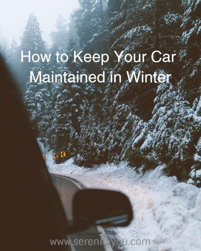 How to Keep your Car Maintained in Winter