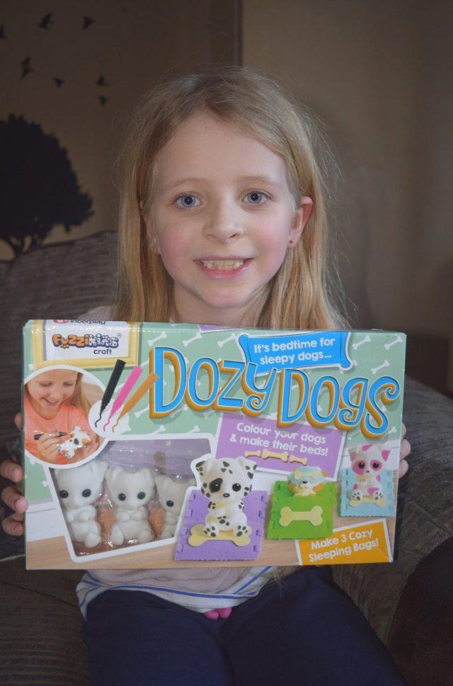 Fuzzikins Dozy Dogs set review