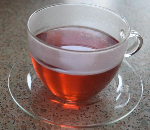 adagio tea | Berry Blues | Glass cup