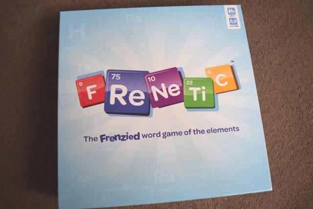 Frenetic Game board game