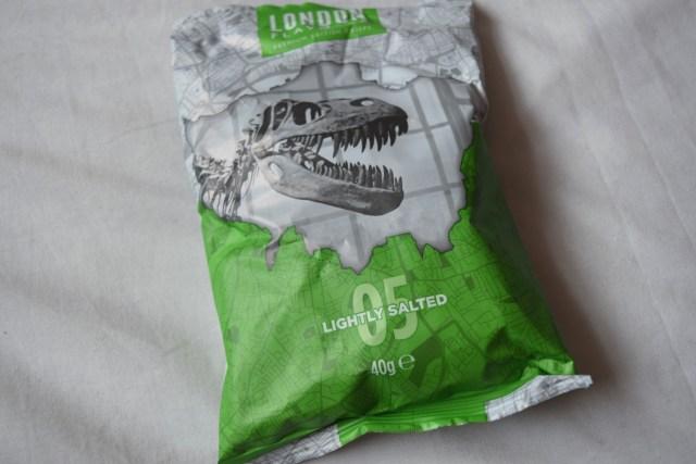 London Flavours crisps - Degustabox