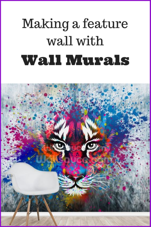 Making a Feature Wall with Wall Murals