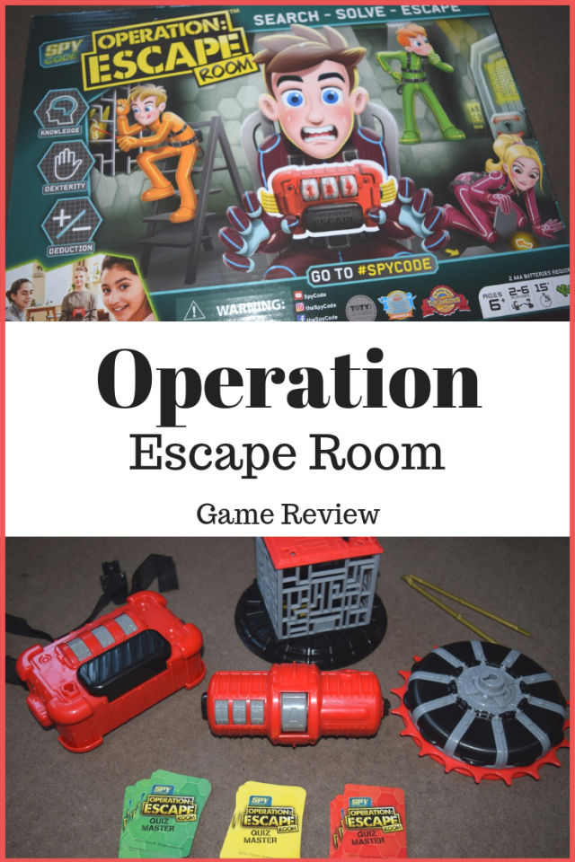Spy Code : Operation Escape Room Review