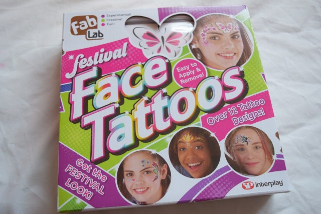 Face Tattoos from Fab Lab
