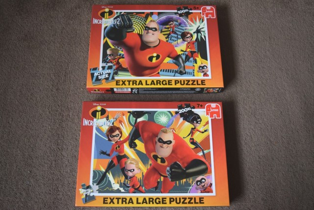 Incredibles 2 Jigsaw Puzzles