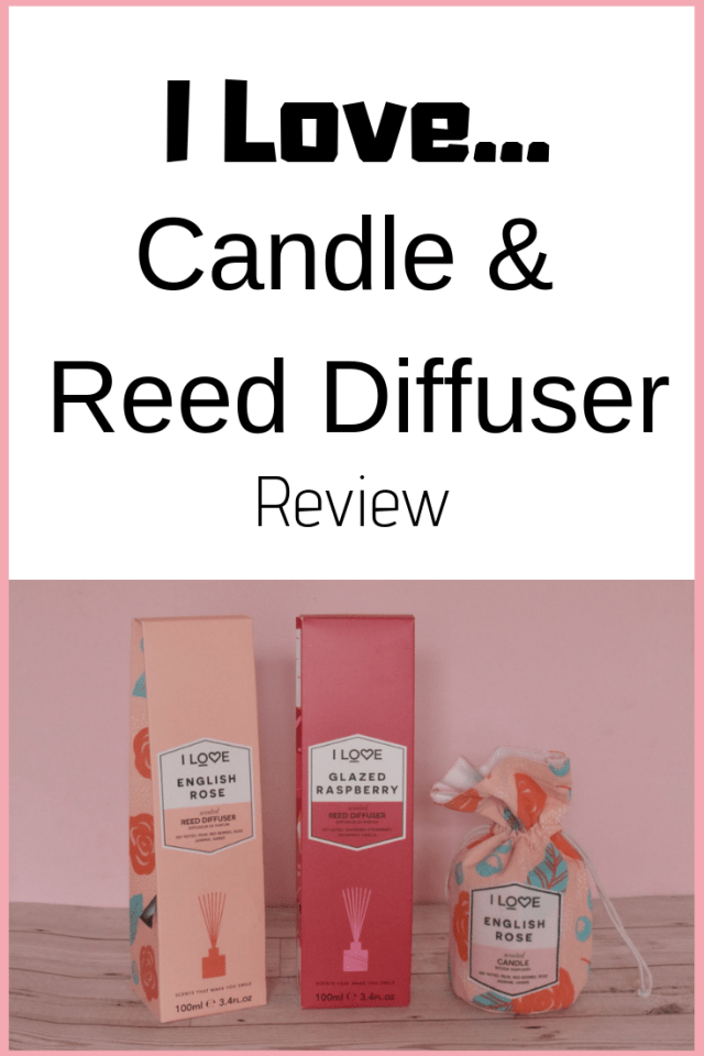 I Love Candle and reed diffuser review   Serenity You