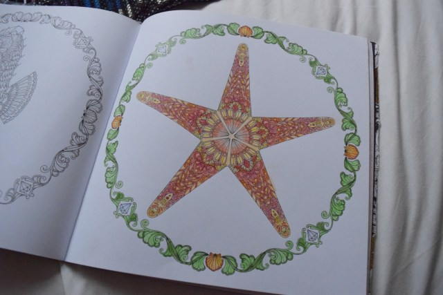 Hunkydory - Prism Watercolour Pencils and Waterbrushes Review - Johanna Basford Adult colouring book