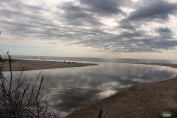 Boca del Canal Andreoni en la actualidad