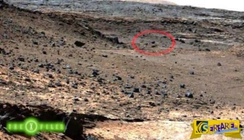 Αιωρούμενη πέτρα στην επιφάνεια του πλανήτη Άρη!