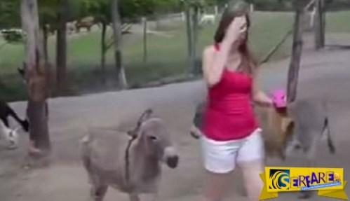 ΘΑ ΠΑΘΕΤΕ ΠΛΑΚΑ: Δείτε τι θα κάνει αυτό το γαϊδούρι στην κοπέλα!