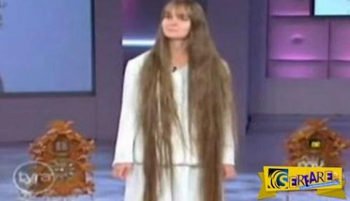 Αυτή η 23χρονη κοπέλα δεν είχε κόψει ποτέ τα μαλλιά της! Δείτε όμως τι έγινε στην εκπομπή που την κάλεσαν…