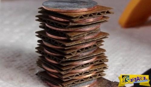 Εσείς ξέρετε να φτιάξτε μπαταρία από κέρματα; Αν ΟΧΙ δείτε το ΕΔΩ …