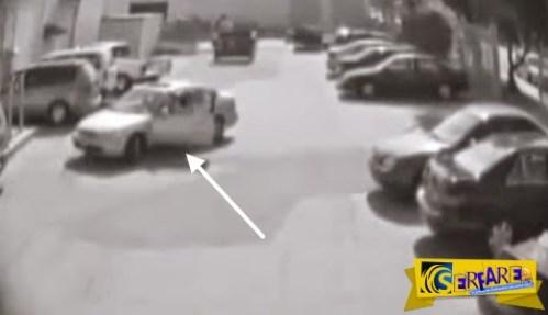 Δείτε αντίδραση ανθρώπου που του πήραν το »parking»!