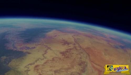 Πριν από δύο χρόνια, έδεσαν μια κάμερα σε ένα μπαλόνι και το απελευθέρωσαν στο διάστημα. Δείτε τι απέγινε!