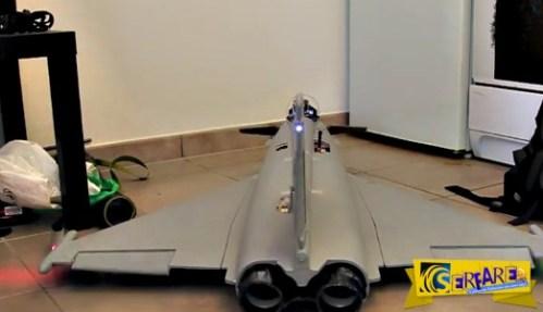 Παιχνίδια για μεγάλα παιδιά! – Τηλεκατευθυνόμενο Eurofighter με κάμερα στο πιλοτήριο!