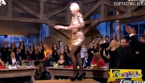 Τσιφτετέλι – φωτιά πάνω στο τραπέζι η Ράνια Κωστάκη!