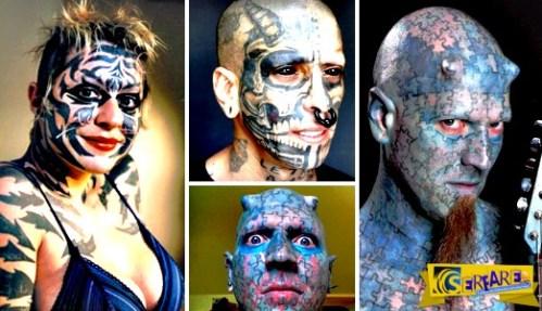 Οκτώ άνθρωποι που έχουν περάσει το τατουάζ … σε άλλο επίπεδο! Δείτε τις εντυπωσιακές φωτογραφίες …