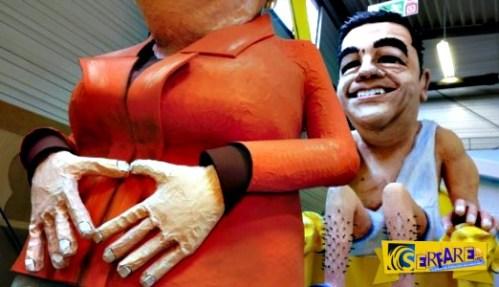 Βασιλιάς Καρνάβαλος ο Τσίπρας: Πρώτη «μούρη» στο καρναβάλι της Γερμανίας