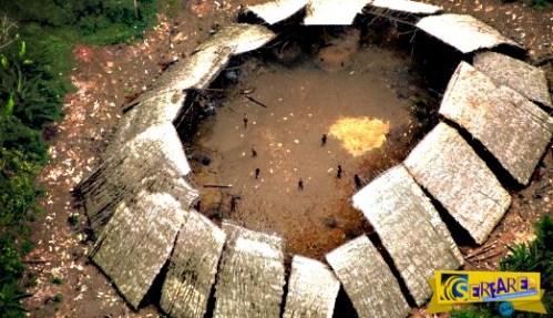Απίστευτες φωτογραφίες! Η «χαμένη» φυλή του Αμαζονίου!