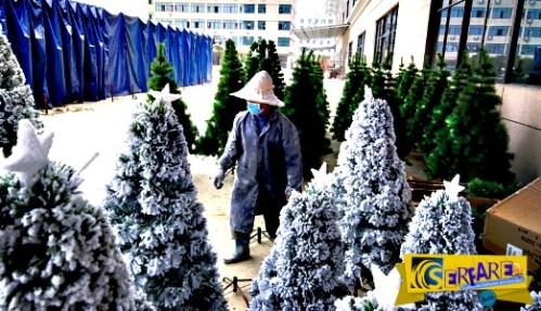 Αυτήν είναι η κινεζική πόλη όπου … «γεννιούνται» τα Χριστούγεννα!