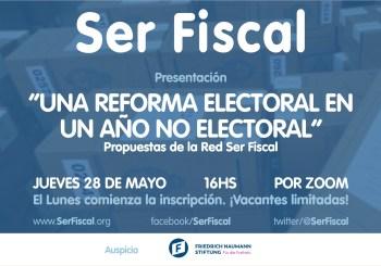 Presentación: Una Reforma Electoral en un año no electoral