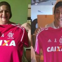#OutubroRosa - Flamengo e adidas ajudam na luta contra o câncer que atinge homens e mulheres