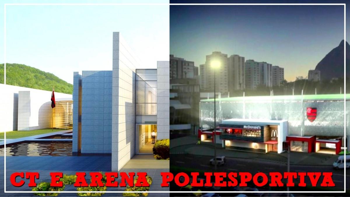 Novos detalhes do 'novo' CT, Arena Poliesportiva e um tempo do canal. Respondendo comentários #1