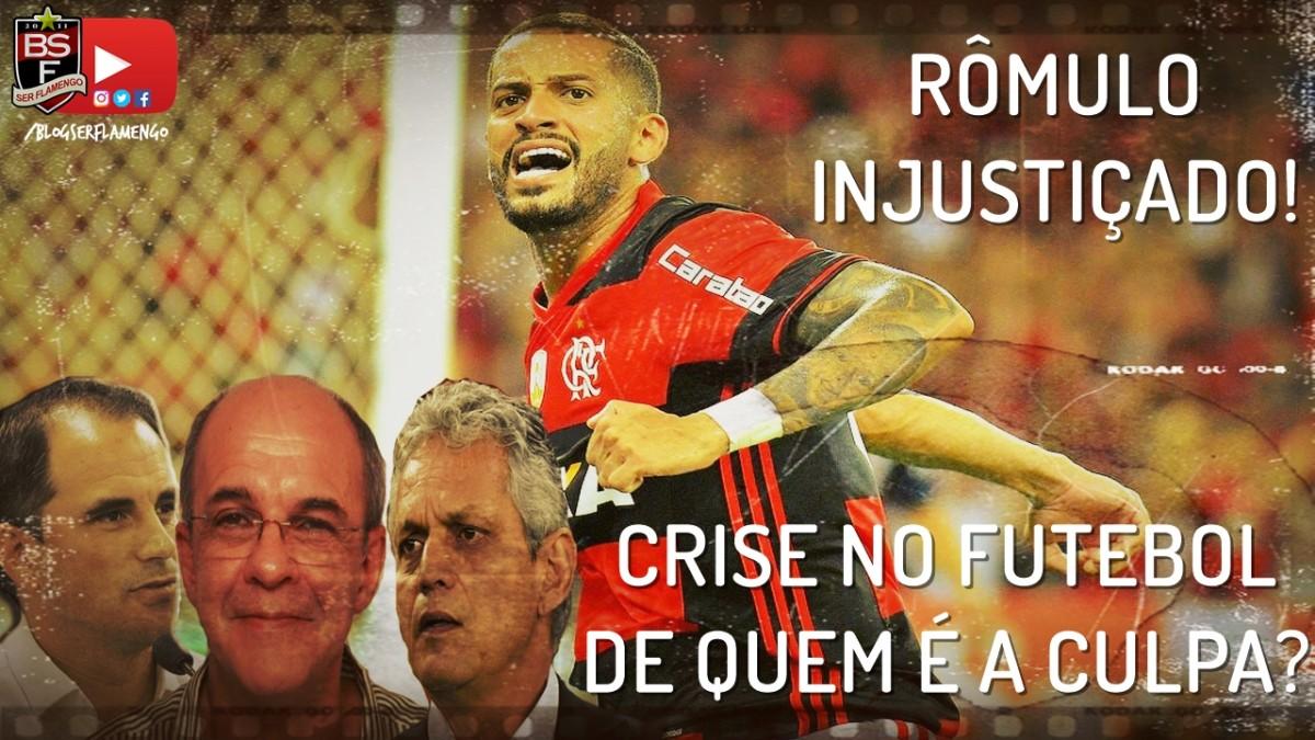 Rômulo injustiçado! Crise no futebol! De quem é a culpa?