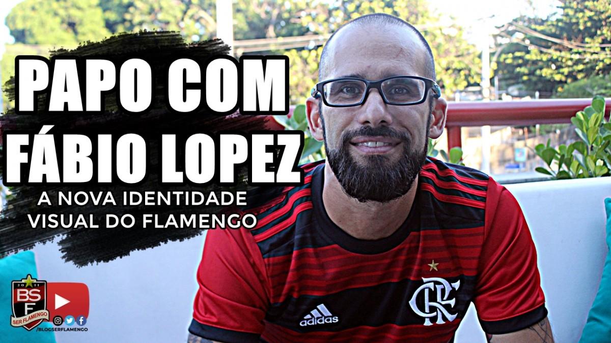 Papo com Fábio Lopez - Todo conceito por trás dos novos escudos e identidade visual do Flamengo