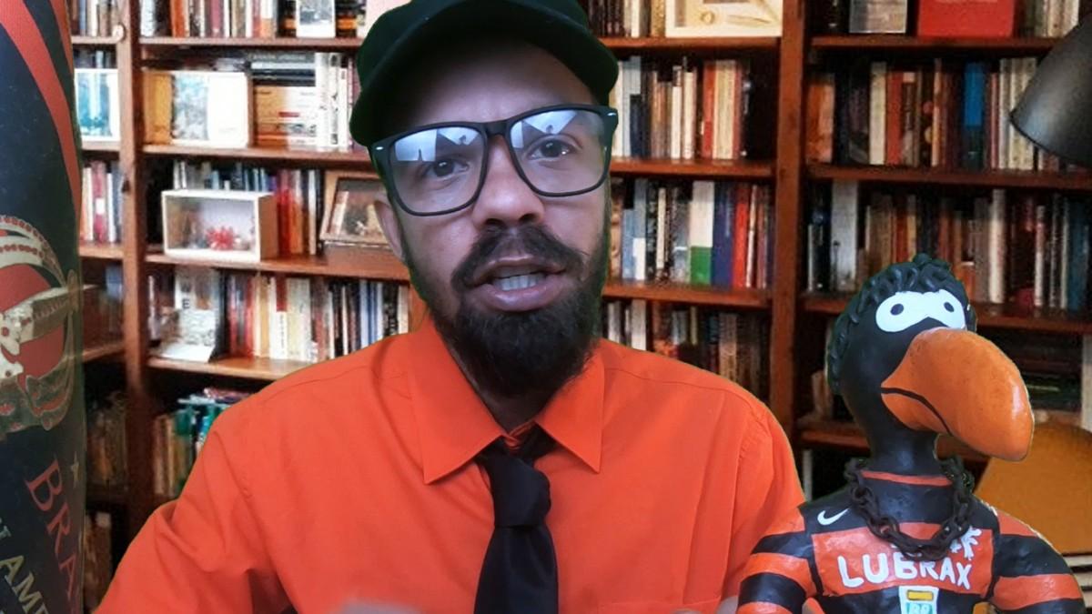 """Militante Rubro-Negro defende VP do Fla Ricardo Lomba: """"O que Vitinho ganhou na carreira?"""""""