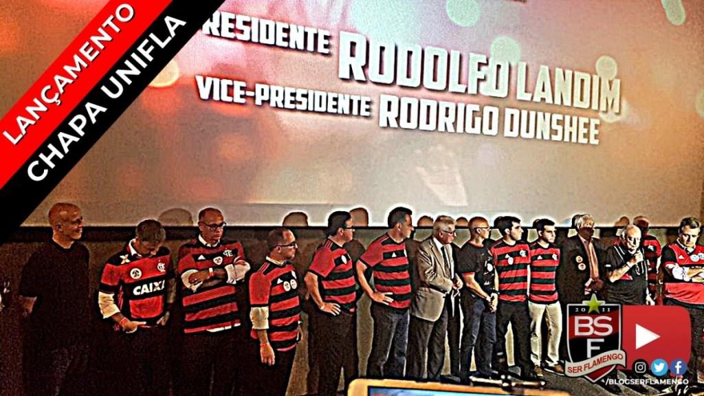 Lançamento da Chapa UniFla - Rodolfo Landim/Rodrigo Dunshee