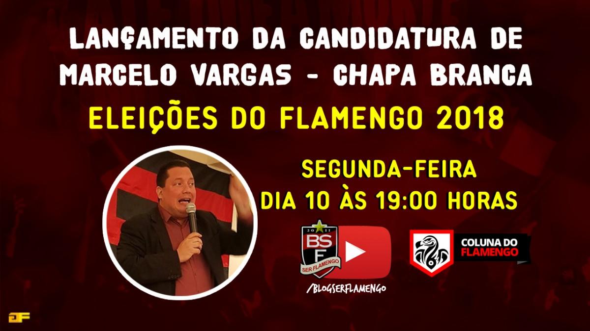 Lançamento da candidatura de Marcelo Vargas - Chapa Branca