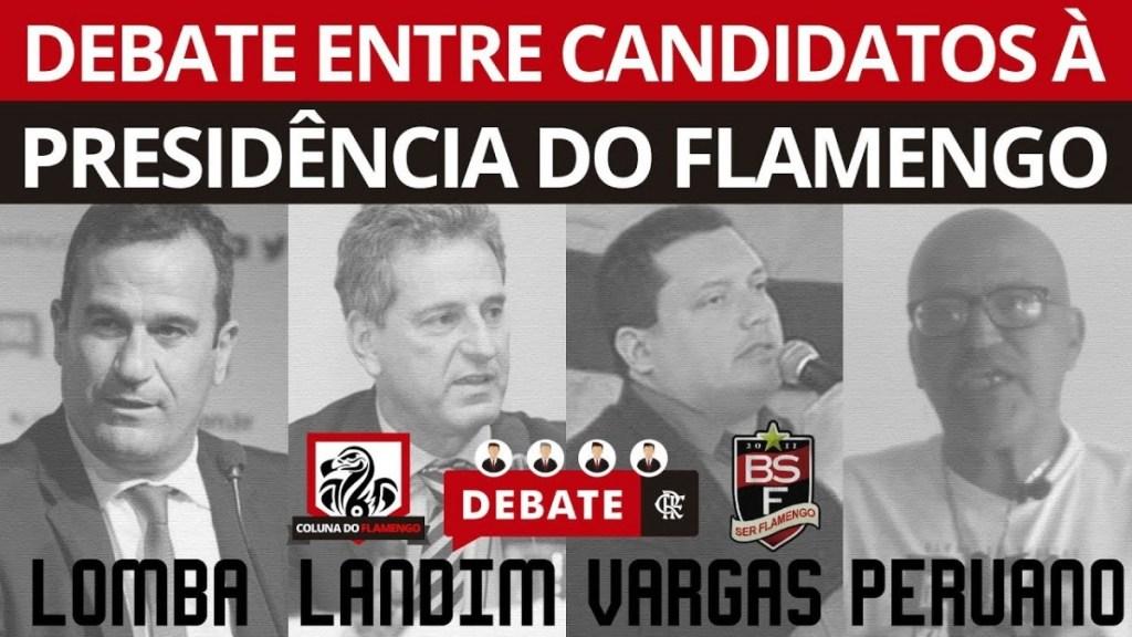 #DEBATEFLA: CANDIDATOS À PRESIDÊNCIA DO FLAMENGO AO VIVO