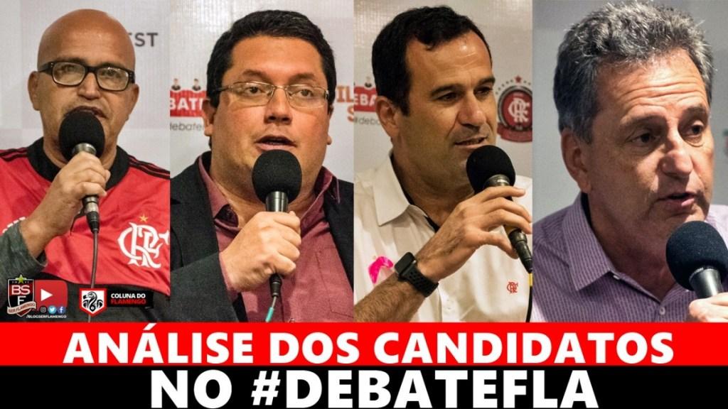 ANÁLISE DOS CANDIDATOS A PRESIDENTE DO FLAMENGO NO #DEBATEFLA