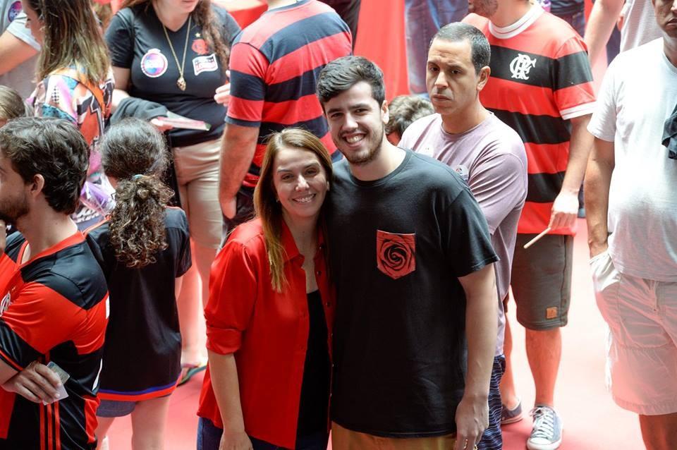 Patricia Amorim, Vice-presidente de Landim e Gustavo Oliveira no comando da Comunicação e Marketing