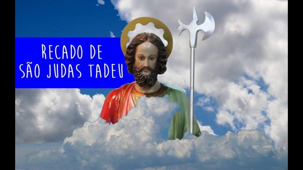 Recado de São Judas Tadeu mandou o recado - Que venha 2019!