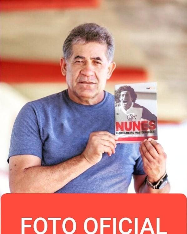 PROMOÇÃO! Sorteio da biografia autografada do Nunes, o Artilheiro das Decisões