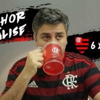 MELHOR ANÁLISE - Flamengo intenso, toque de bola rápido e Arrascaeta deu show