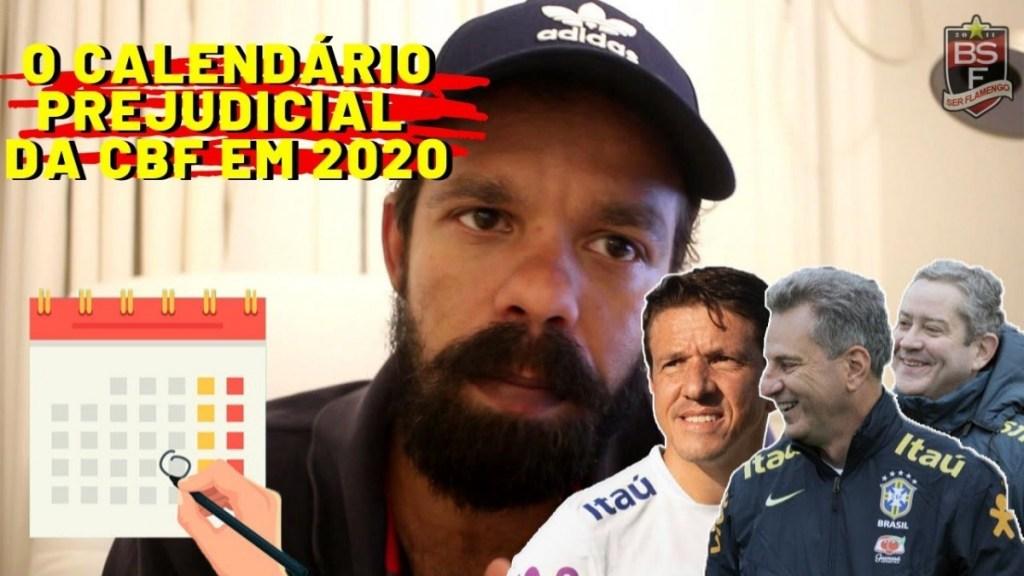 JUNINHO MENTE, CALENDÁRIO DE 2020 DA CBF PREJUDICA CLUBES E FLAMENGO FICA EM SILÊNCIO