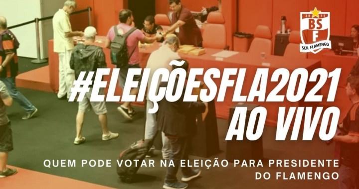 #ELEIÇÕESFLA2021: Quem pode votar na eleição para presidente do Flamengo
