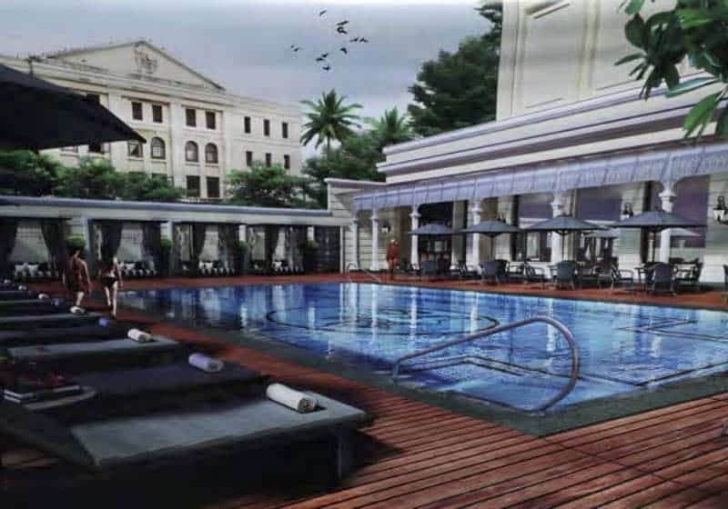 5*Strand Hotel Pool project
