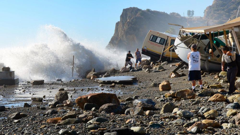 Hurricane Marie and Coastal Erosion and Flooding (4/6)
