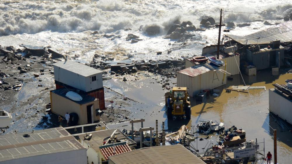 Hurricane Marie and Coastal Erosion and Flooding (5/6)