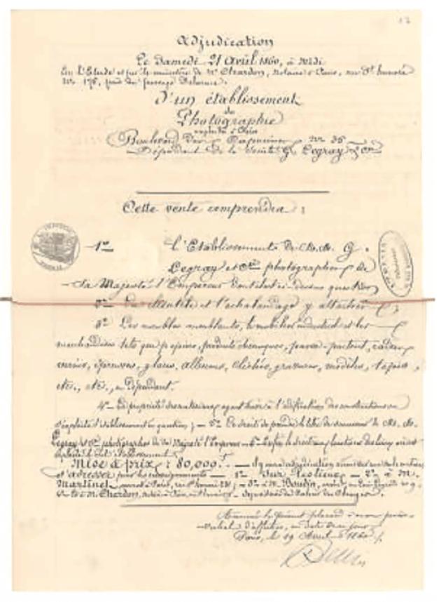 2-FRA-GLG Encheres 21 avril 1860