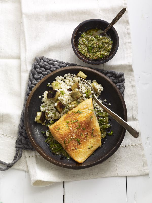 Simmer Down Arctic Char With Charmoula And Mint From Fish