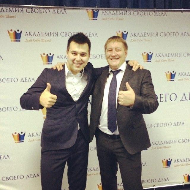 Азат Валеев и Никита фофанов
