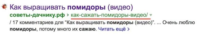 ссылка на русском
