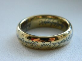 надпись на кольце