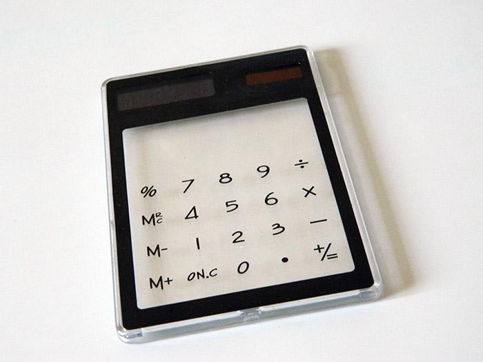 калькулятор прозрачный