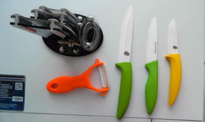 полный набор ножей